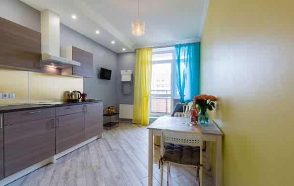 Яркие апартаменты, 45m²